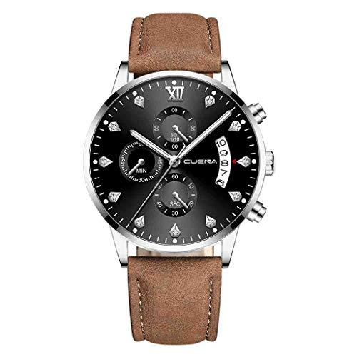 SWJM Reloj Hombre Relogio Masculino Uhr Herrenmode Cuena Herrenuhr Mode Militär Analog Sport Quarz Armbanduhr,I