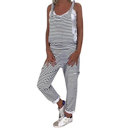 LInkay Damen Hose, Yoga-Hose LäSsige Gestreifte LäTzchen Idyllic Simple LäTzchen Sport Strumpfhose Mode 2019 (Schwarz, Medium) - 4 0 Aluminium-draht