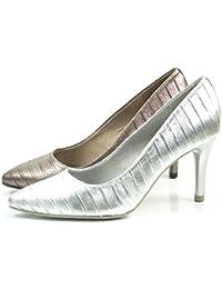 Suchergebnis auf für: tamaris pumps bronze: Schuhe