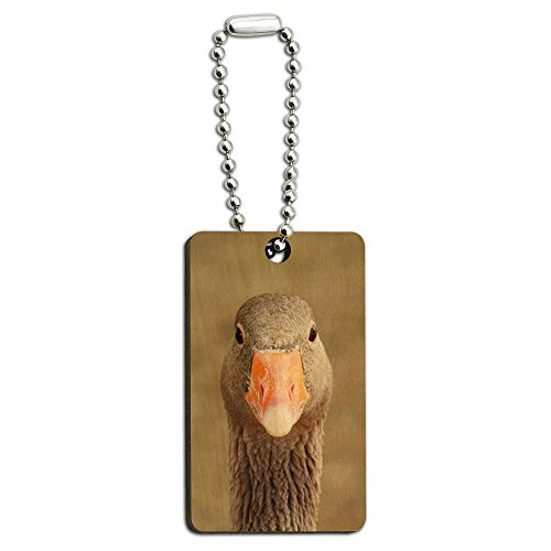 gray-grey-goose-bird-wood-wooden-rectangle-key-chain