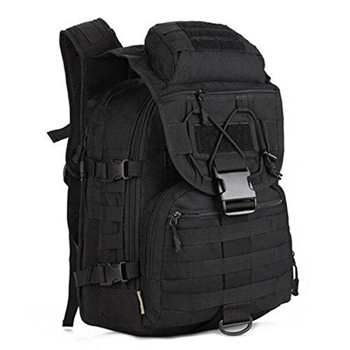 Mefly Pack Zaino Zaini Borsa 40L Piccolo Zaino Per Escursione Khaia Viaggi black