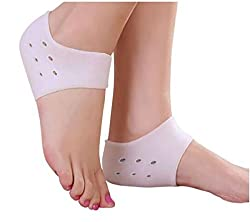 TOP PREMIUM QUALITY HEELL PAIN RELIEF. ANTI-SLIP, BREATHABLE, ULTIMATE HEEL PAIN RELIEF SLIP-ON PADS, FOR HEEL PAIN, SPURS, HEEL SWELLING. TOP PREMIUM QUALITY. ONE PAIR, TWO UNITS, UNIVERSAL SIZE.