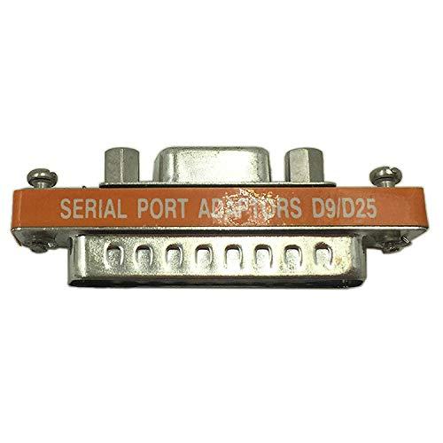 REFURBISHHOUSE Db9 Buchse Auf Db25 Stecker Mini Serielle Schnittstelle Adapter Kabel Gender Umsetzer -