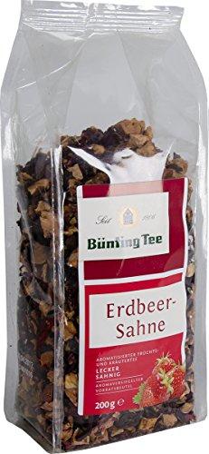 Bünting Tee Erdbeer-Sahne 200 g lose, 5er Pack (5 x 200 g)