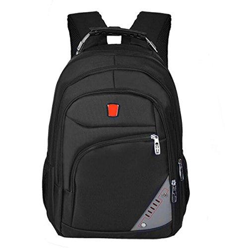 Rucksack Männer Große Kapazität Business Computer Tasche Student Tasche Black