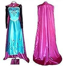 tamaño tg-M- Lsfx ??traje de baño de la mujer Frozen famosos adulto Dibujos Damina Nueva Cosplay Frozen Elsa Anna princesa Frozen Regine