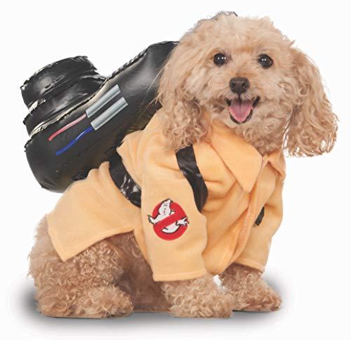 "Rubie's Official Haustier Hundekostüm, Ghostbusters, Orange, Small, Hals zu Schwanz  11"", Brust 17"""