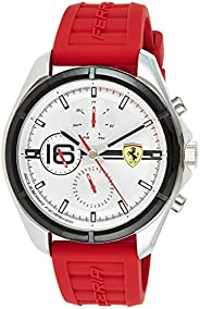 Scuderia Ferrari Men's Analogue Quartz Watch with Silicone Strap 083