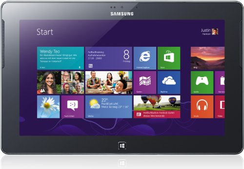 "Samsung ATIV Tablette tactile 10 "" (25,40 cm) 32 Go Windows RT WiFi Noir"