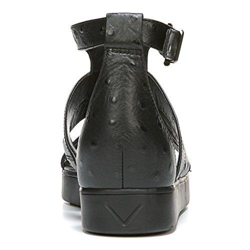 Via Spiga Cora Damen Leder Gladiator Sandale Black