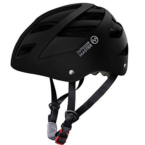 OutdoorMaster Multisport Helm für Jugendliche, Einstellbare Größe Fahrradhelm, Skateboard Helm mit Herausnehmbares Innenfutter- Rollhelm mit 21 Lüftungsöffnungen - M...