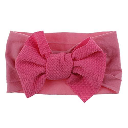 Sanahy Baby Mädchen Stirnbänder und Bögen, Haarschmuck für Neugeborene Kleinkind Mädchen Nylon Stirnbänder Kinder Geschenke