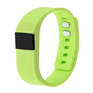 Bluetooth Smart Band and fitness tracker with for Android/IOS Mobile Phones GREEN COLOUR BY KKES