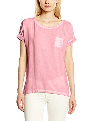 ESPRIT 026ee1k054 - Materialmix, T-Shirt Donna Rosa (SALMON 860)