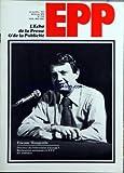ECHO DE LA PRESSE ET DE LA PUBLICITE (LÕ) [No 1122] du 26/02/1979 - SOMMAIRE - PRESSE - ASSEMBLEES GENERALES DE LA FNPF - COUP DÔÇÖOEIL SUR LA PRESSE SCIENTIFIQUE ÔÇô LA SCIENCE A LA PORTEE DE TOUS ÔÇô LES REVUES DIDACTIQUES ET LISTE NON EXHAUSTIVE DES PUBLICATIONS SCIENTIFIQUES - LES REDACTEURS EN CHEF DE LA PRESSE FRANCAISE EN 1979 - ROBERT HERSANT PREPARE UN MADAME-FIGARO DONT LE NUMERO ZERO DEVRAIT ETRE PRESENTE FIN JUIN PREMIER NUMERO EN OCTOBRE - APRES LA GREVE DES QUOTIDIENS ANDRE AUDINO...