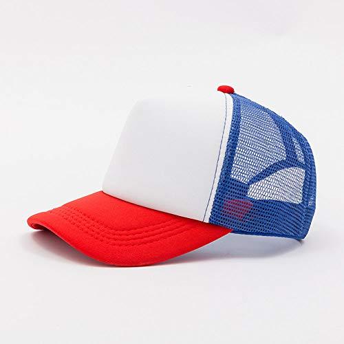 HENLOOO Baseball-Mützen für Herren und Damen, Klassische Sonnenhüte im Freien,red - Herren Disney Vintage Micky Maus