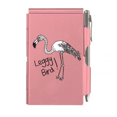 casey-rogers-etui-a-rabat-glamour-notes-rose-inscription-leggy-bird-sac-a-main-pour-femme-carnet-de-