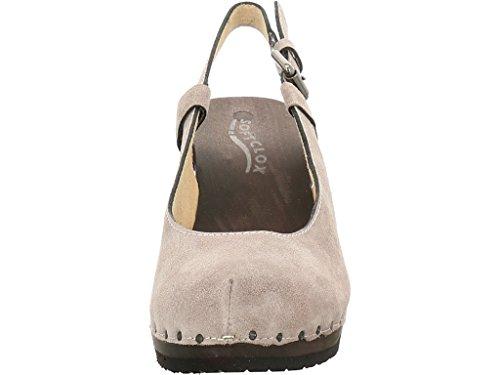 Softclox Slingpumps Valerie, Farbe: grau Grey
