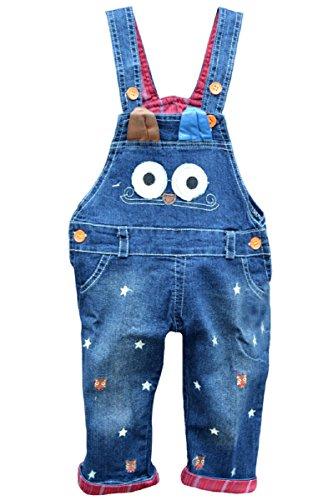 Unisex Baby Romper Bib Pants Jeans Outfits Hosenträger -LatzHose