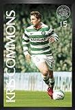 Fußball Poster und MDF-Rahmen - Celtic Glasgow, Kris