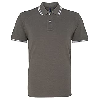 Asquith & Fox Men's Classic Fit - Tipped Polo (Medium 40