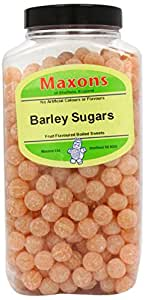 Maxons Barley Sugars Jar 3.4 Kg