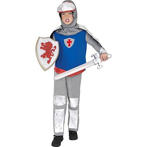 Vestito antico cavaliere Medio Evo guerriero con