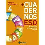 Cuadernos ESO Lengua y Literatura 4 (Castellano - Material Complementario - Cuadernos Eso)