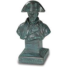 Perchero con busto Napoléon, color bronce