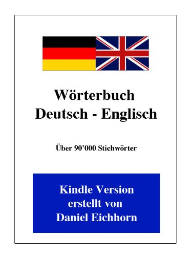 Kindle-wörterbuch Englisch-deutsch (Wörterbuch Deutsch - Englisch)