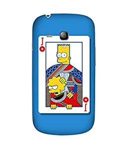 Junior Simpson Samsung Galaxy S3 Mini Case