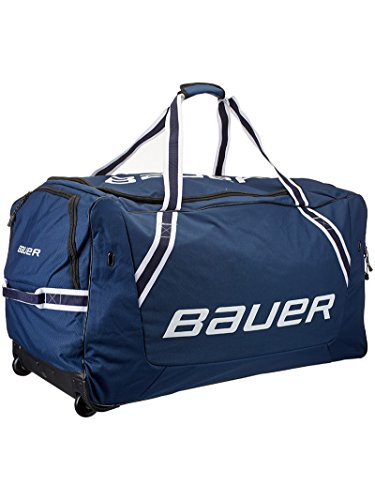 Bauer 850 Wheelbag ( Large ) Red/Black