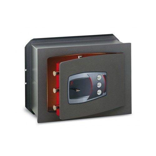 Cassaforte A Muro A Chiave + Combinazione Serie Technofort Technomax - 270X390X200Mm