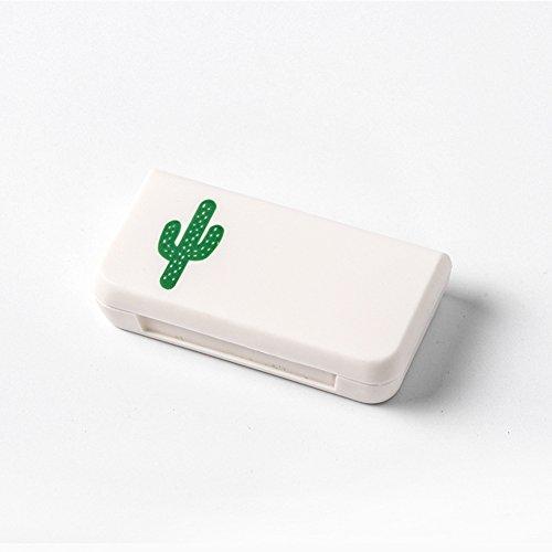 Alicer Mini Pillendose Pillenbox Pillen Box,Tragbarer Medizin-Speicher-Minipillen-Kasten-Gesundheitswesen für Reise-Gebrauch