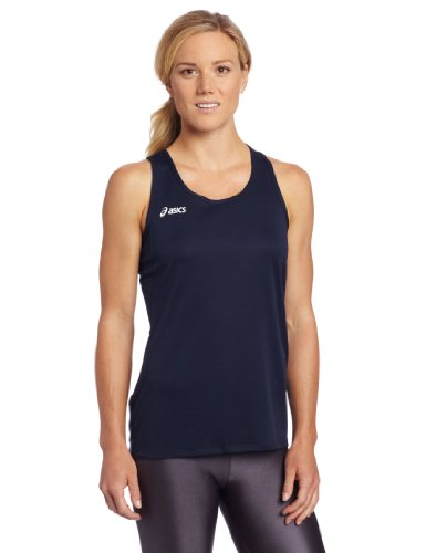ASICS Women's Rival Wrestling Singlet (Navy), Medium (Singlet Womens Wrestling)