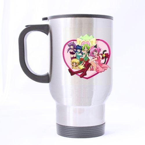 Generic Anime Cute Sailor Moon Pattern Tazza Caffè mpphing Tazza Stampata su due lati personalizzato Tazza Da Caffè da viaggio in acciaio inox