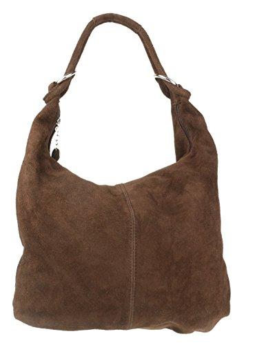 girly-handbags-hobo-italian-suede-leather-shoulder-bag-coffee