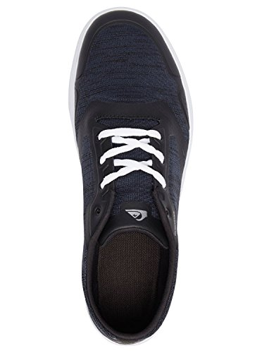 Quiksilver Amphibian Plus, Baskets Basses Homme Bleu - Blue/Blue/White