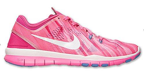 NIKE Damen Laufschuh WMNS Nike Free TR 5 Print pink, Größe:37.5