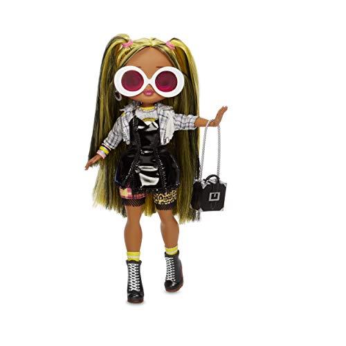 L.O.L. Surprise! 565123E7C  O.M.G. Fashion Doll Alt Grrrl Series 2, Ankleide- und Sammelpuppe mit Haaren und 20 Überraschungen, 27 cm