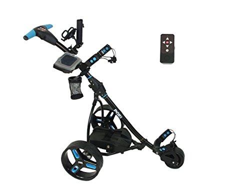 Elektro Golf Trolley PGE 2.0 Funkfernbedienung, 400W , Akku 33Ah, Farbe schwarz