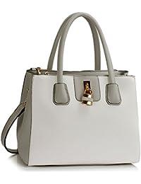 8b4918368958 Ladies Tote Bags Women s Fashion Designer Celebrity Padlock Shoulder Handbag  Quality Faux Leather With Strap CWS00195A