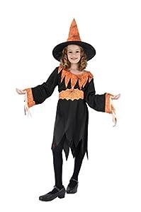 Naranja Bruja niño Disfraz tela de araña de la miel