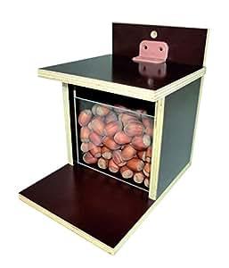 Elmato 10971 Distributeur automatique de noisettes pour écureuils