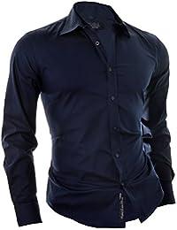 D&R Fashion Men's Italian Design Smart Shirt with Universal Cut