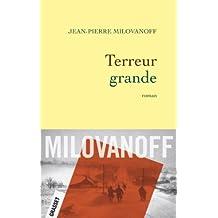 Terreur grande (Littérature Française)