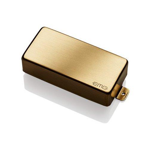 EMG EM922188 85-7H Humbucker Pickups per Chitarre Elettriche Cassa in Acciaio, Oro Spazzolato