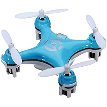 Cheerson CX10 CX-10 6Axis 2.4G 4CH LED Mini RC Helicopter Quadcopter RTF (New Blue)