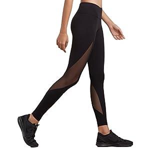dh Garment Sport Leggings Damen hohe Taille Yoga Hose mit Bundtasche – Bauchkontrolle