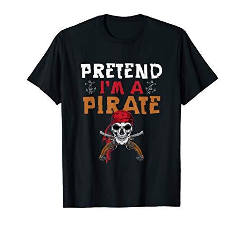 Kinder Kostüm Freaky - Piraten Kapitän Kostüm - Tu So, Als Wäre Ich Ein Pirat  T-Shirt